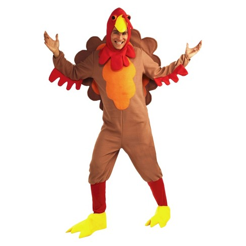 Men's Johnny-O Turkey Costume One Size Fits Most - image 1 of 1