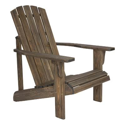 Lakewood Rustic Adirondack Chair Barnwood - Shine Company Inc.