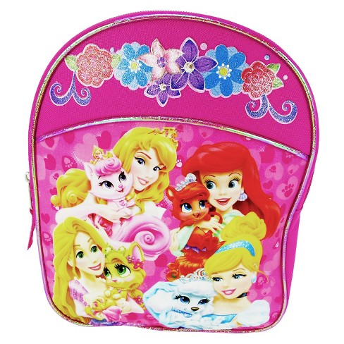 "Disney Princess 9"" Mini Kids' Backpack - Pink - image 1 of 3"
