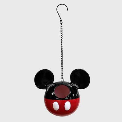 Disney 7  Mickey Mouse Hanging Resin Birdhouse