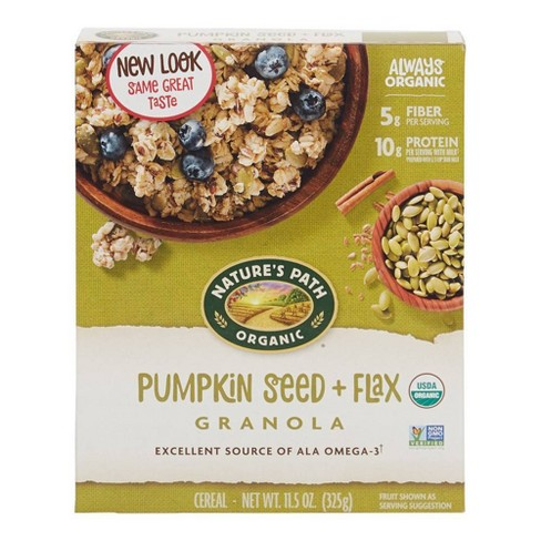 Nature's Path Flax Plus Organic Pumpkin Flax Granola Breakfast Cereal - 11.5oz - image 1 of 4
