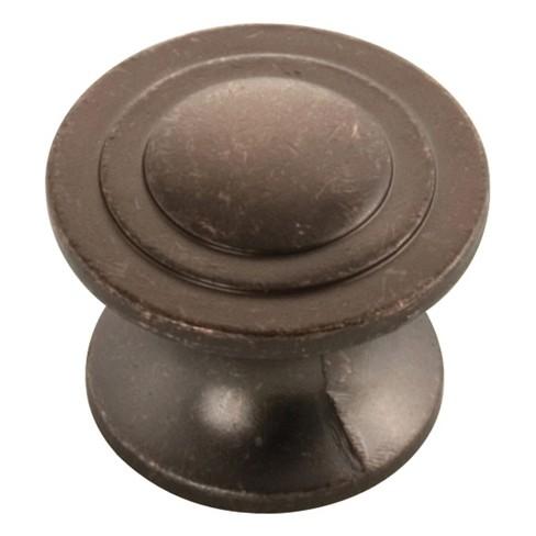 "Hickory Hardware P3101 Deco 1-1/4"" Mushroom Cabinet Knob - image 1 of 1"