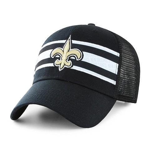 NFL Men s New Orleans Saints Mesh Back Course Hat   Target 7291963c1a43