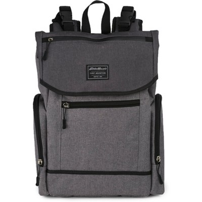 Eddie Bauer Echo Places & Spaces Back Pack Diaper Bag - Gray