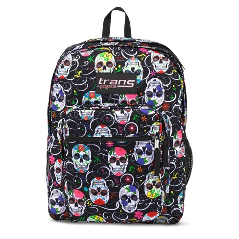 "Trans by JanSport® 17"" SuperMax Backpack - Sugar Skulls - image 1 of 4"