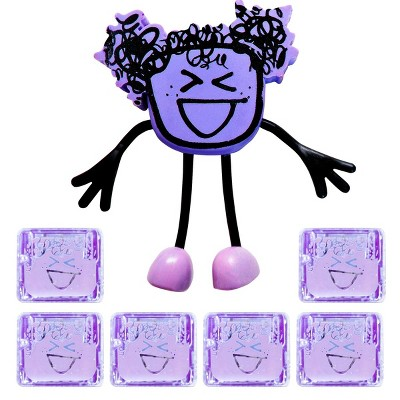 Glo Pals Character Lumi & 6 Purple Light Up Water Cubes