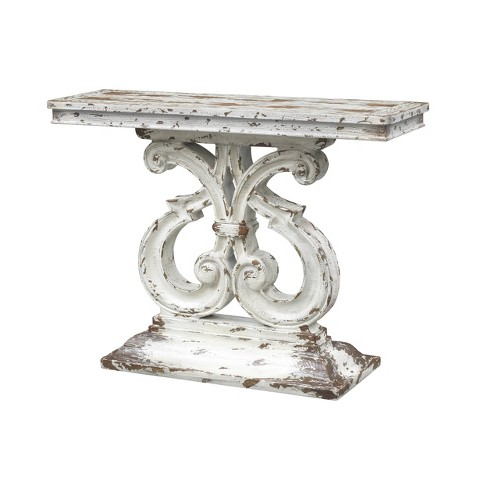 Stafford Console Table Ivory - Treasure Trove - image 1 of 4
