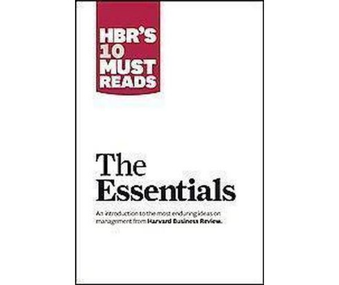 HBR's 10 Must Reads The Essentials (Paperback) - image 1 of 1