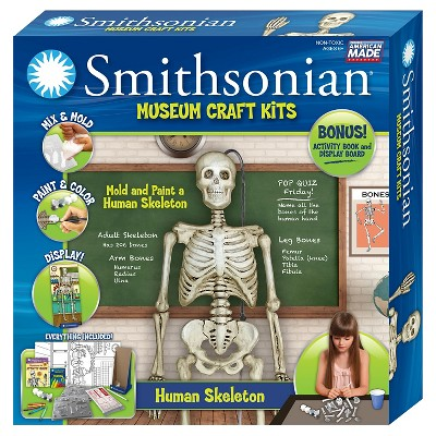 Smithsonian Museum Craft Kit - Skeleton