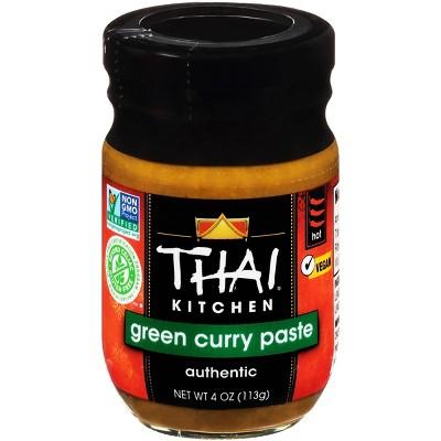 Thai Kitchen Premium Authentic Green Curry Paste 4oz