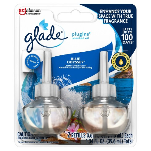 Glade  Blue Odyssey PlugIns Refill - 2ct - image 1 of 4