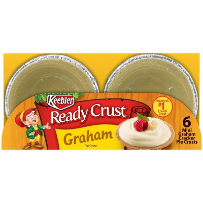 Keebler Ready Crust Graham Pie Crust - 4oz/6ct