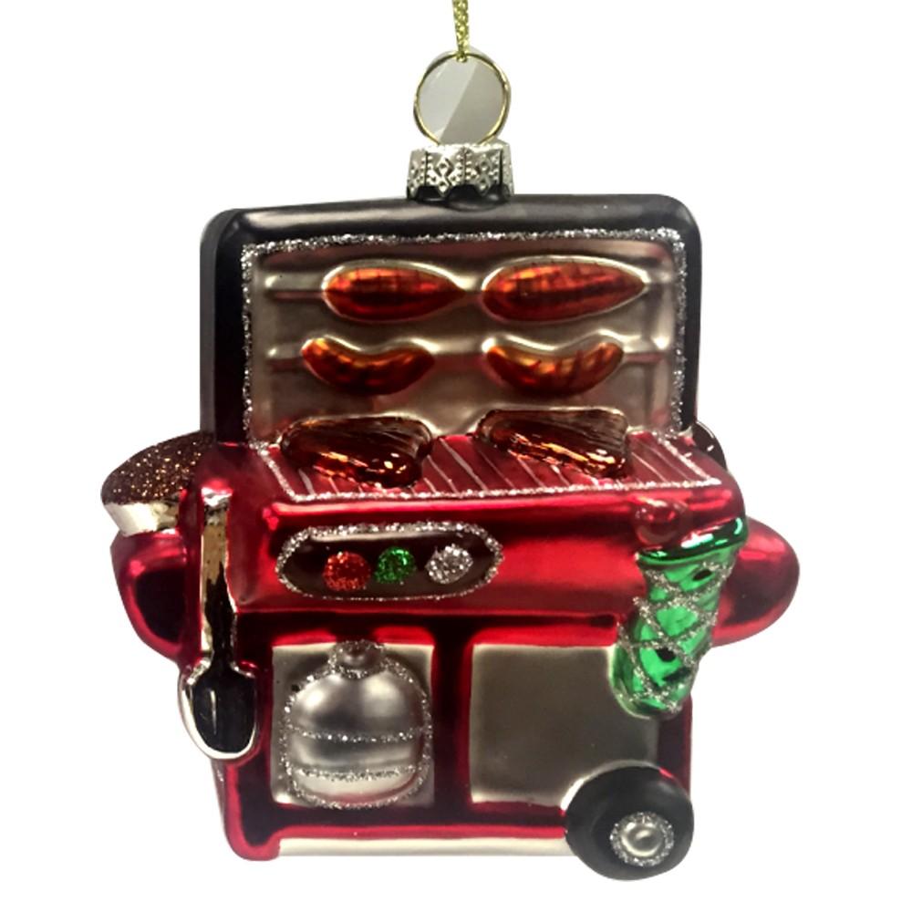 Virginia Christmas Tree Ornament - Wondershop, Red
