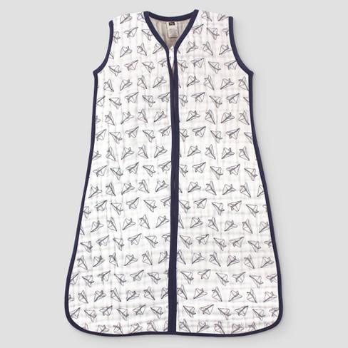 big sale fc6f3 e85b7 Hudson Baby Safe Sleep Wearable Muslin Sleeping Bag - Paper Airplanes -  18-24M