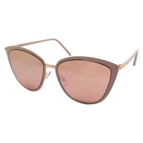 31e7d1b67f Women s Cateye Sunglasses - Black  Gold   Target