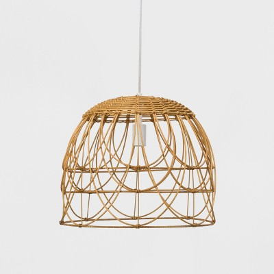 Natural Rattan Ceiling Light - Opalhouse™