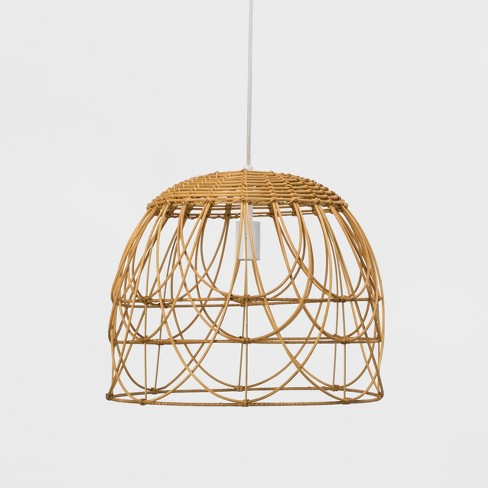 new product 8908c e6484 Natural Rattan Ceiling Light - Opalhouse™
