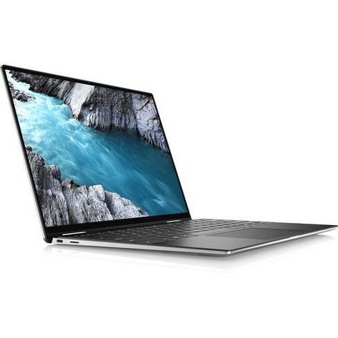 "Dell XPS 13 7390 13.3"" Notebook - 1920 x 1080 - Core i5 i5-10210U - 8 GB RAM - 256 GB SSD - Platinum Silver, Black - Windows 10 Pro 64-bit - image 1 of 4"