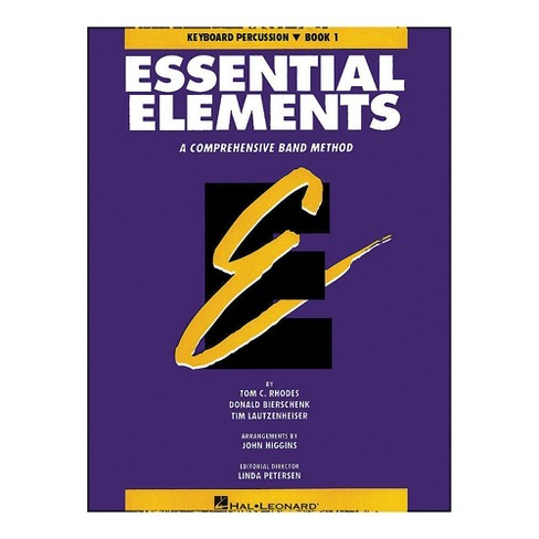Hal Leonard Essential Elements Book 1 Keyboard Percussion - image 1 of 1