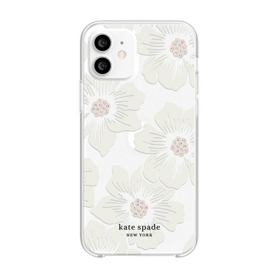 Kate Spade New York Apple iPhone Hard Shell Case HollyHock Floral - Cream/Clear