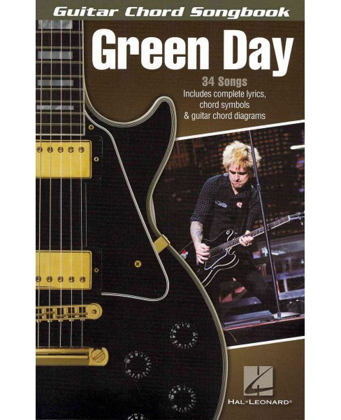 Green Day : Guitar Chord Songbook (Paperback) - image 1 of 1