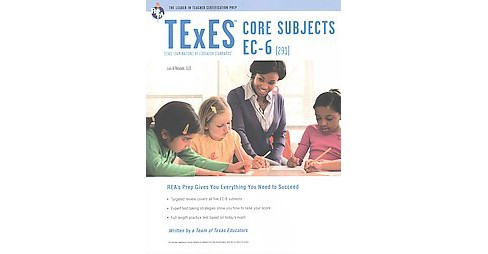 Texes Core Subjects Ec-6 291 (Revised) (Paperback) - image 1 of 1