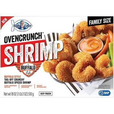 High Liner Oven Crunch Buffalo Shrimp - Frozen - 18oz