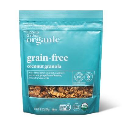 Coconut Grain Free Granola - 8oz - Good & Gather™
