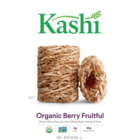 Kashi Organic Promise Berry Fruitful Breakfast Cereal - 15.6oz - image 1 of 6