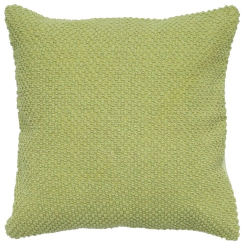 """20""""x20"""" Oversize Poly Filled Solid Square Throw Pillow - Rizzy Home - image 1 of 3"""