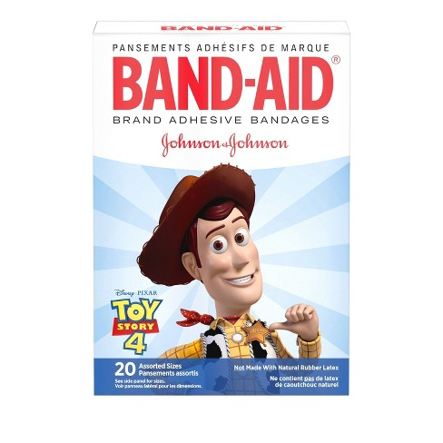 Band-Aid Brand Adhesive Bandages featuring Disney/Pixar Toy Story 4 - Assorted Sizes - 20ct - image 1 of 4