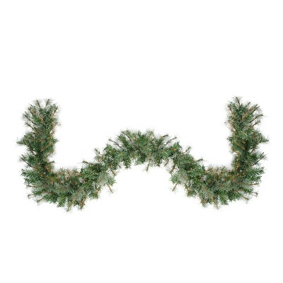 "Northlight 6' x 9"" Unlit Country Mixed Pine Artificial Christmas Garland"