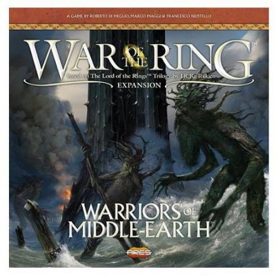 Warriors of Middle-Earth (2nd Edition, 1st Printing w/Tidings not Burdens Mini-Expansion) Board Game