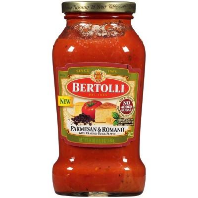 Bertolli Parmesan & Romano with Cracked Black Pepper Pasta Sauce - 24oz