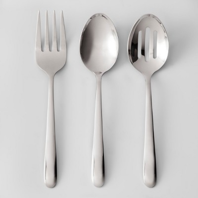 3pc Stainless Steel Serving Utensil Set - Made By Design™