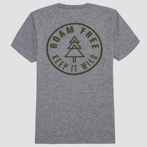 a4e174cf1b406d Men's Weekend Adventures Short Sleeve Graphic T-Shirt - Masonry Gray :  Target