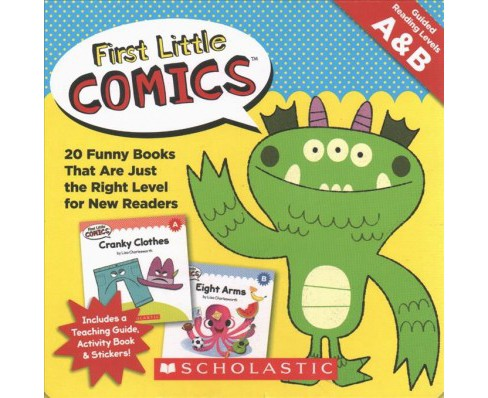 First Little Comics Guided Reading Levels A & B -  by Liza Charlesworth (Paperback) - image 1 of 1