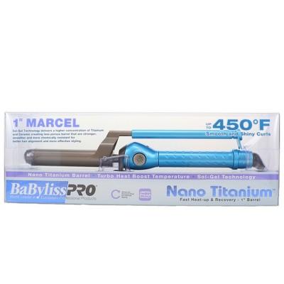 BaBylissPRO Nano Titanium Marcel Curling Iron 1 Inch