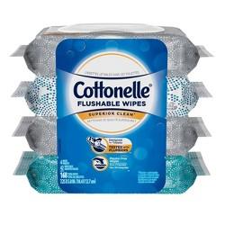 Cottonelle Superior Clean Flushable Wipes