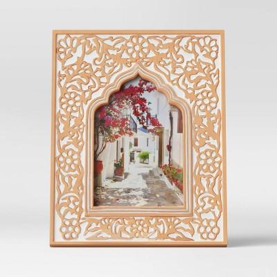 "4"" x 6"" Kazbah Resin Frame Cream - Opalhouse™"