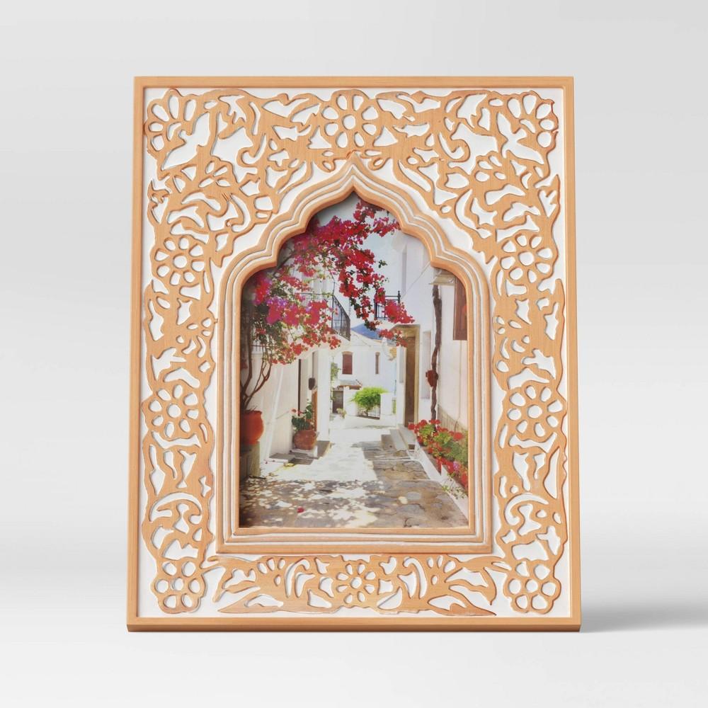 4 34 X 6 34 Kazbah Resin Frame Cream Opalhouse 8482