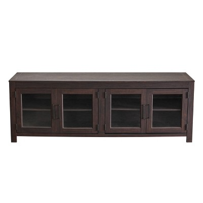 """70"""" TV Stand For TVs up to 75"""" Dark Driftwood - Home Essentials"""