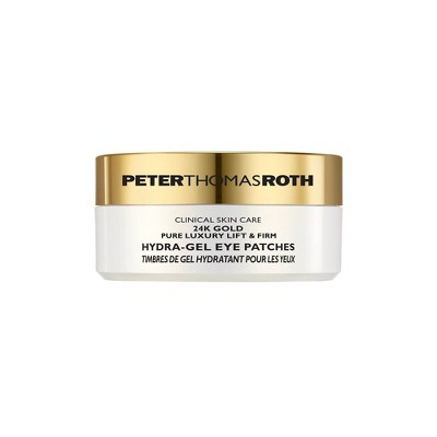 PETER THOMAS ROTH 24K Gold Pure Luxury Lift & Firm Hydra-Gel Eye Patches - 60ct - Ulta Beauty