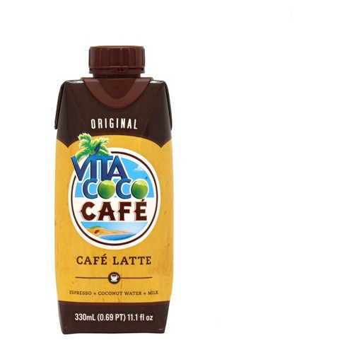 Vitacoco Coco Cafe Cafe Latte Coconut Water 11.1oz Single - image 1 of 3