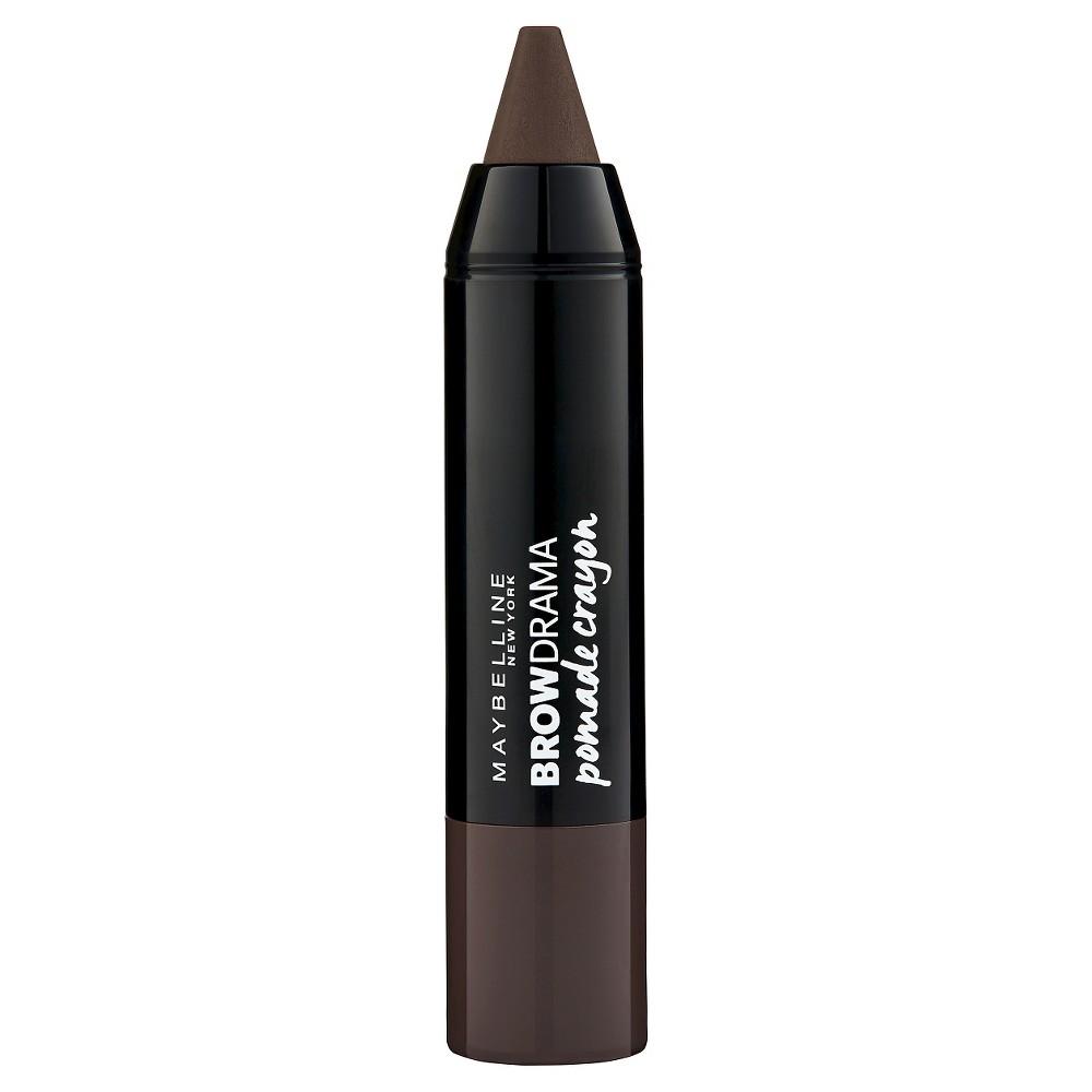 Image of Maybelline Eyestudio Brow Drama Pomade Crayon 260 Deep Brown 0.04oz