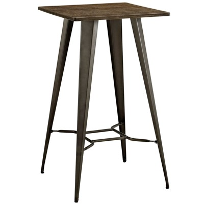 Direct Bar Table Brown - Modway