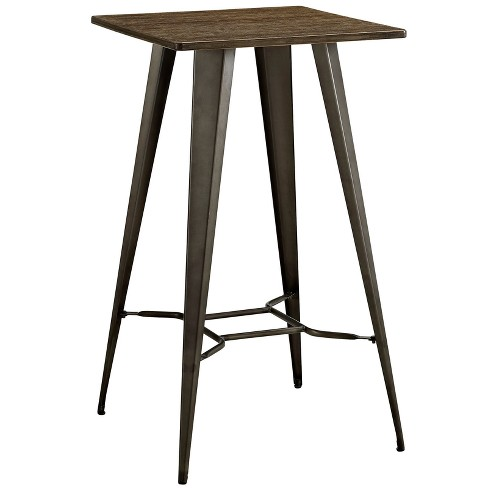Direct Bar Table Brown - Modway - image 1 of 4