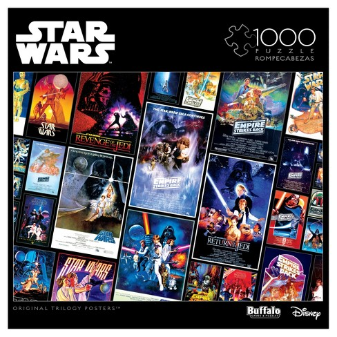 Original Trilogy Posters Star Wars 1000pc Puzzle - image 1 of 3