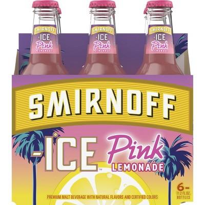 Smirnoff Ice Pink Lemonade - 6pk/12 fl oz Bottles