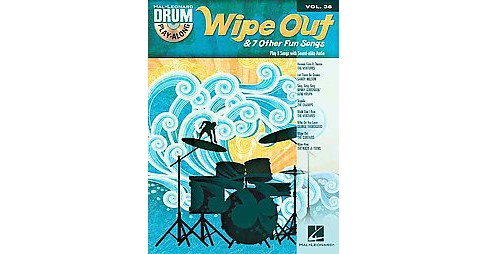 Wipe Out & 7 Other Fun Songs (Paperback) - image 1 of 1